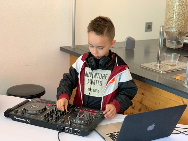 Youngest DJ - DJ Legoo by Jamie Barrientos