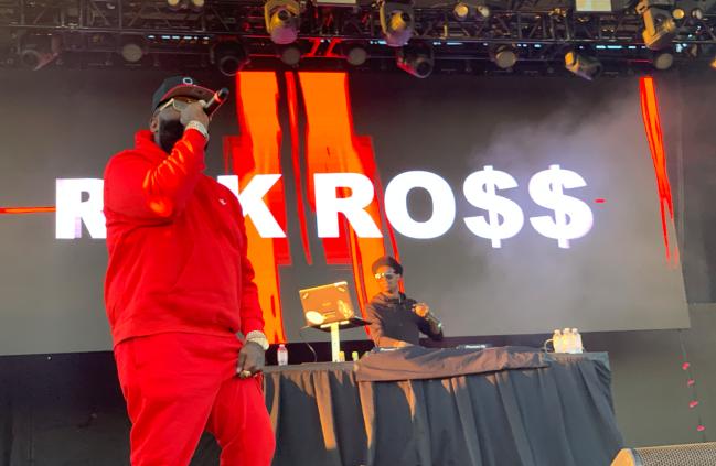 Rapper Rick Ross by Jamie Barrientos